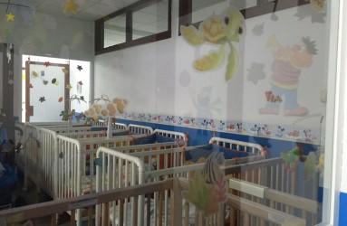 Zona de descanso para bebés